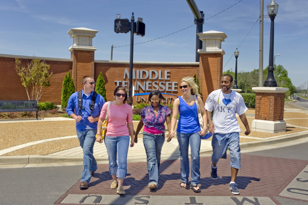 Middle Tennessee State University >> Campus Map Middle Tennessee State University Acalog Acms